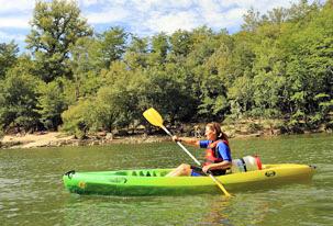 Vezere canoe