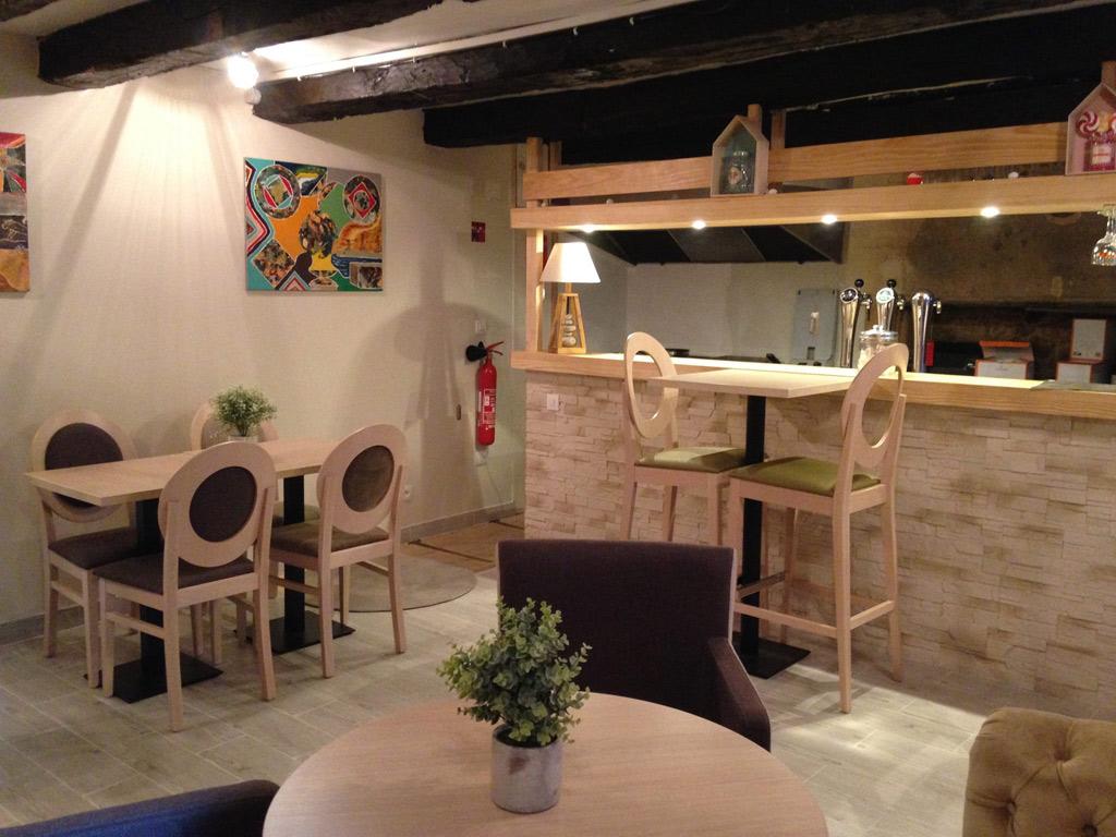 le clin d 39 il restaurants in p rigueux. Black Bedroom Furniture Sets. Home Design Ideas