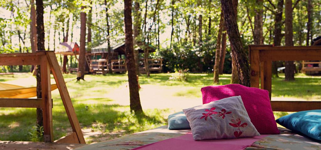 la parenth se camping les ormes r ception s mariage s biron. Black Bedroom Furniture Sets. Home Design Ideas