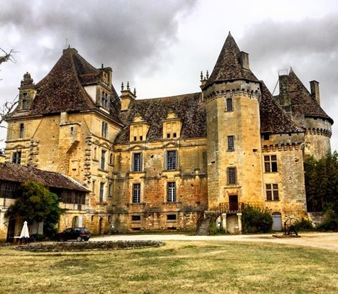 Le château de Lanquais