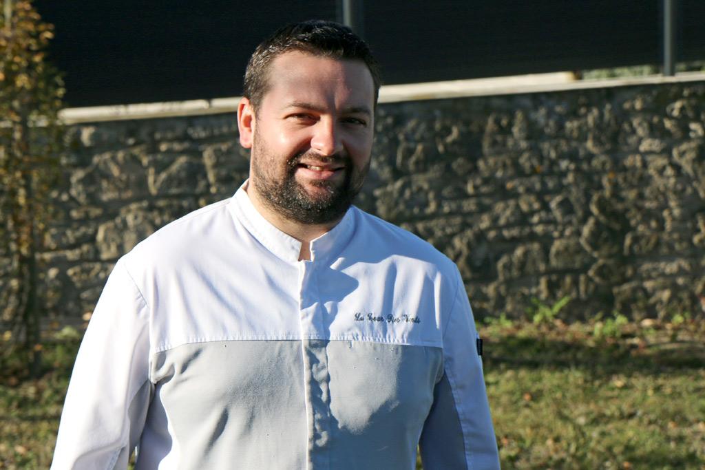Damien Fagette, chef de La Tour des Vents