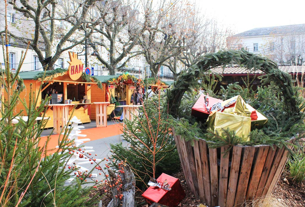 Marché de Noël de Périgueux - Place Bugeaud