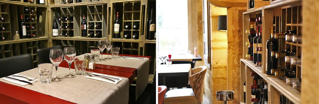 Vous ne manquerez pas de bons vins à la Couleuvrine