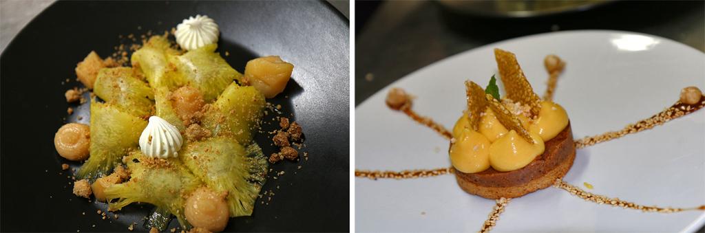 Les desserts à la Couleuvrine