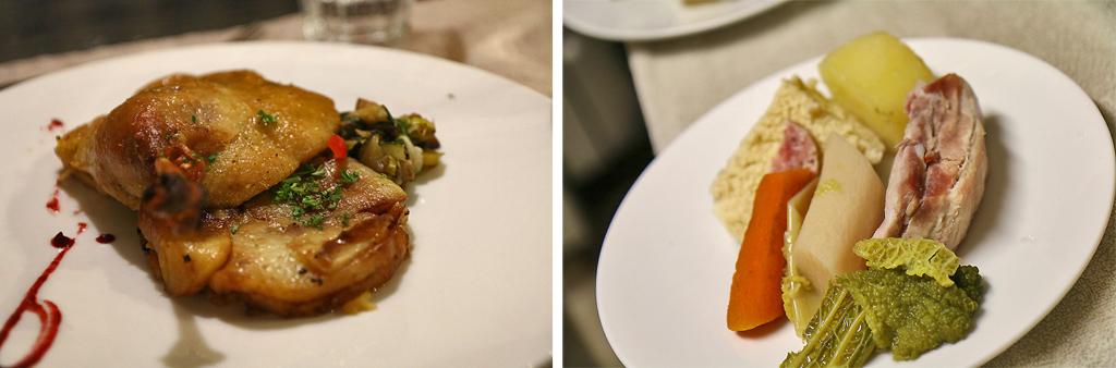 Les plats à La Couleuvrine, La Mique (à droite)