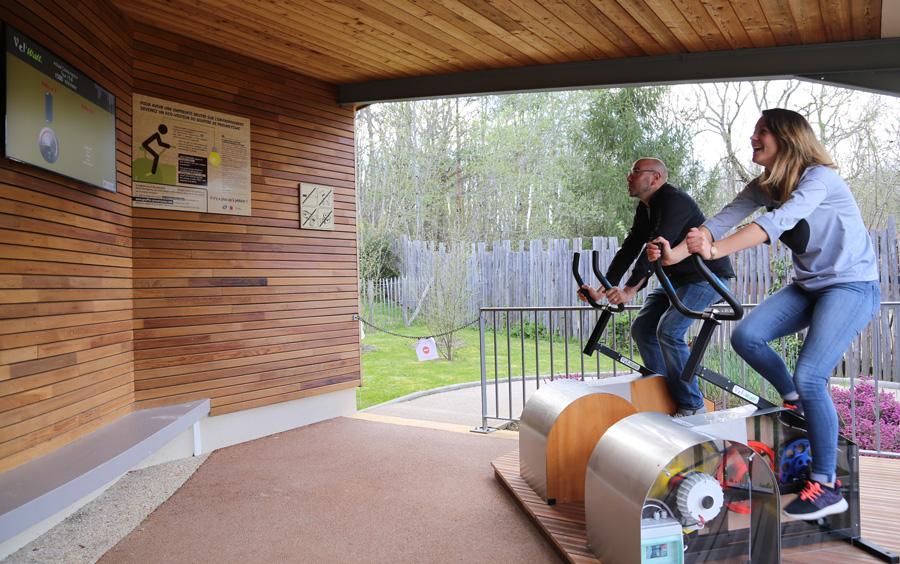 Vélos au Gouffre de Proumeyssac