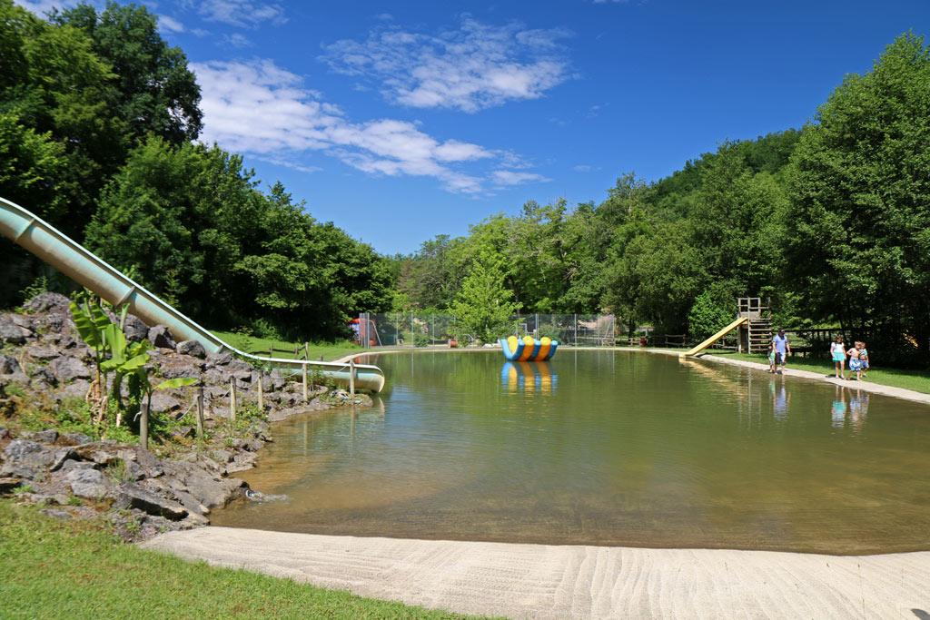 Magnifique et large espace de baignade naturelle