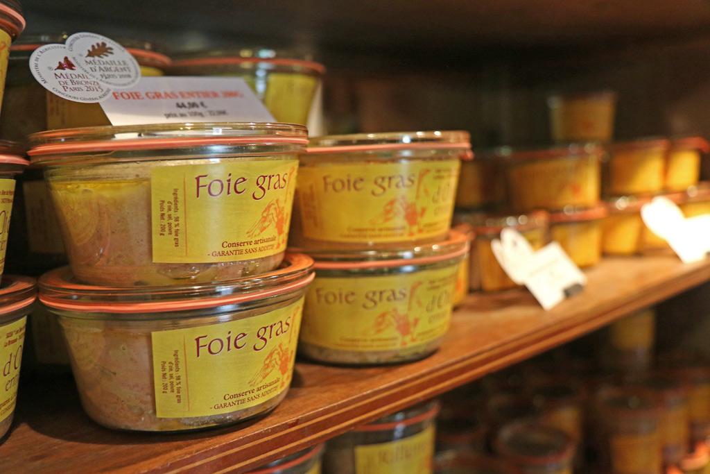 Les foies-gras à rapporter à la maison