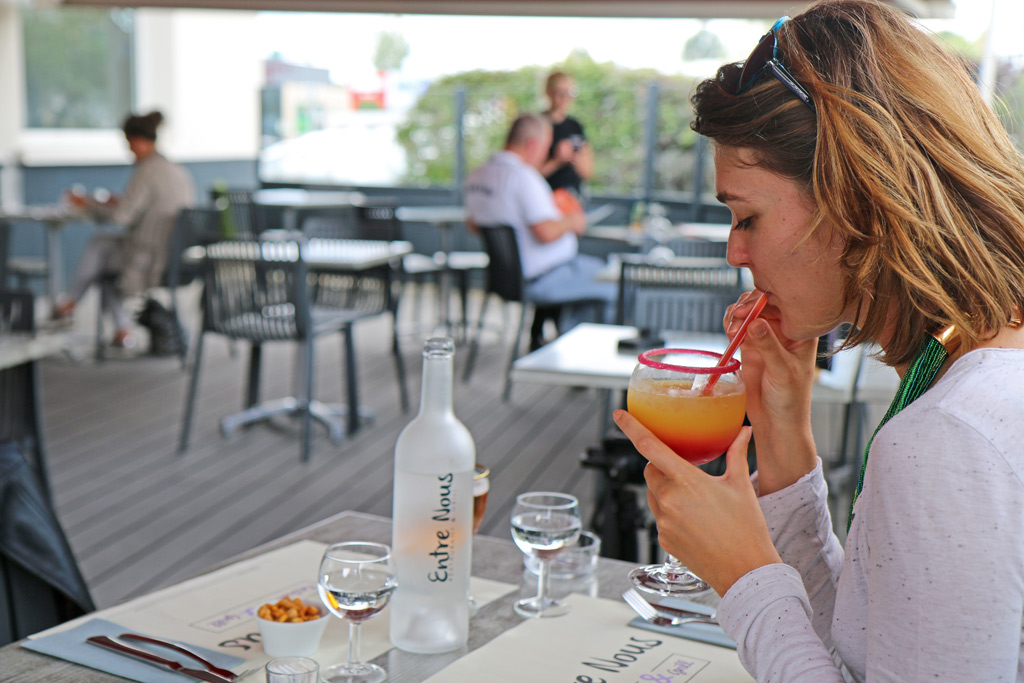 La terrasse du restaurant Entre Nous