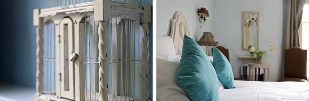 Une belle chambre bleue