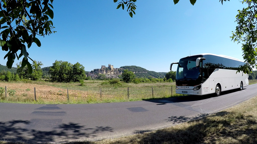 A Beynac, en Vallée Dordogne