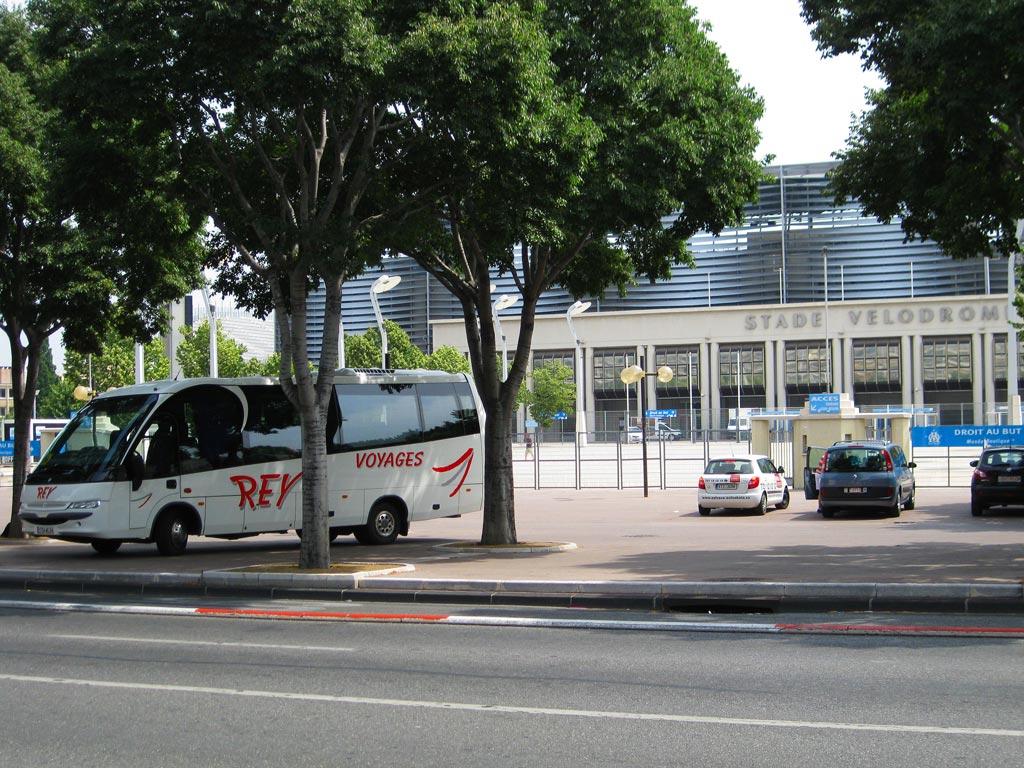 Et au stade Vélodrome à Marseille pour voir l'OM !
