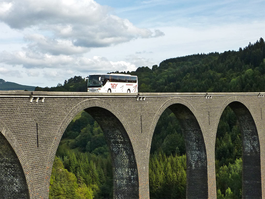 En Haute Loire, au Viaduc des Badioux