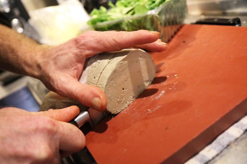 Foie gras préparé maison, bien sûr !