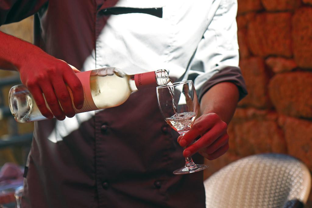 Les bons vins aussi sont à l'honneur