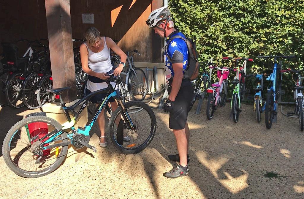Le Camping Le Paradis loue des vélos, VTT et vélos électriques