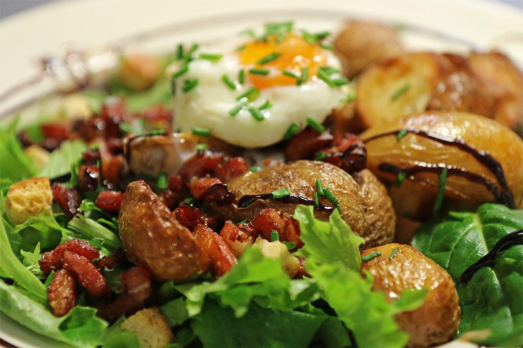 Salade gourmande à la Périgordine
