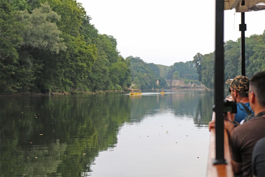 Les Gabarres de Bergerac promenade détente au bord de l'eau