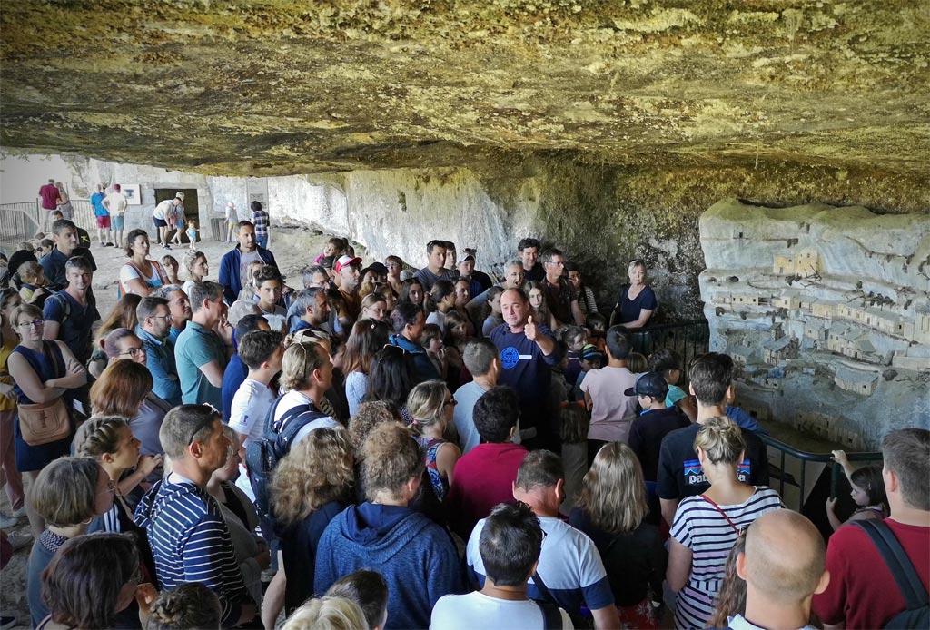 Visite guidées roque saint christophe