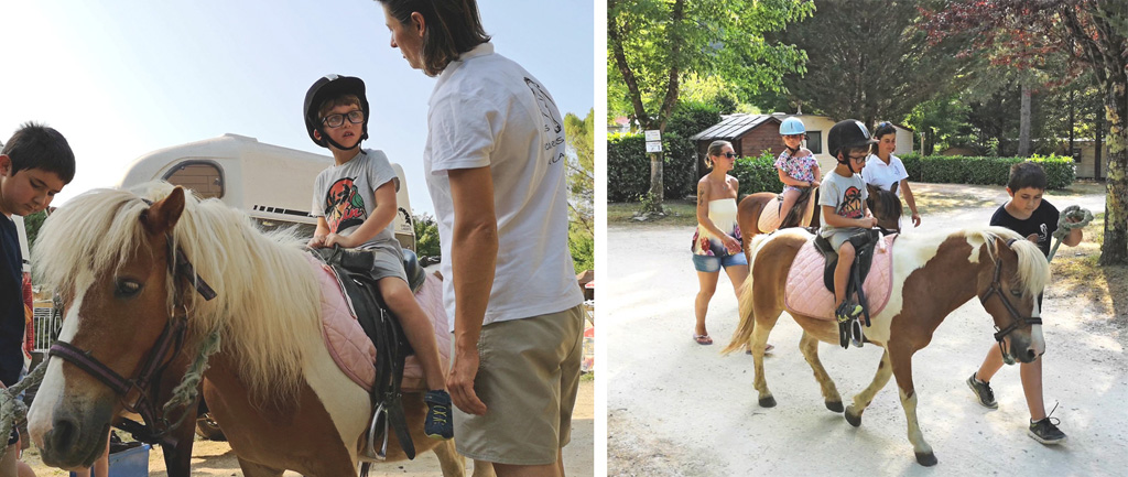 promenade a cheval camping de la grande prade