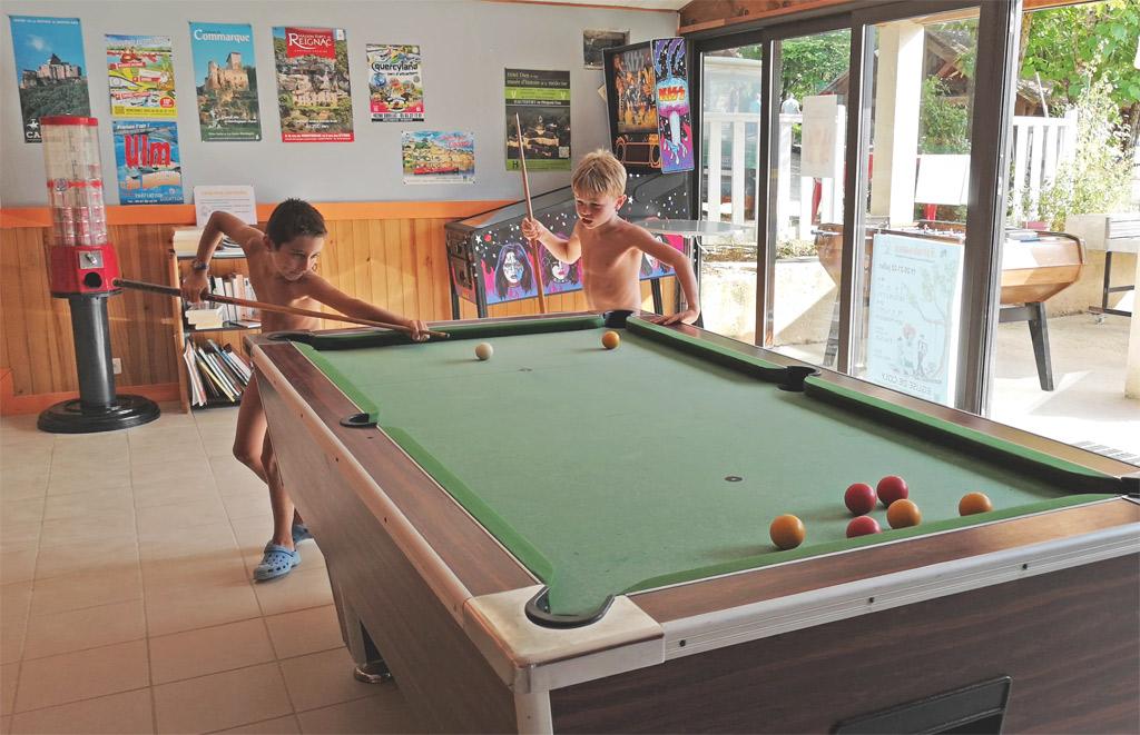 billiard camping of the big prade