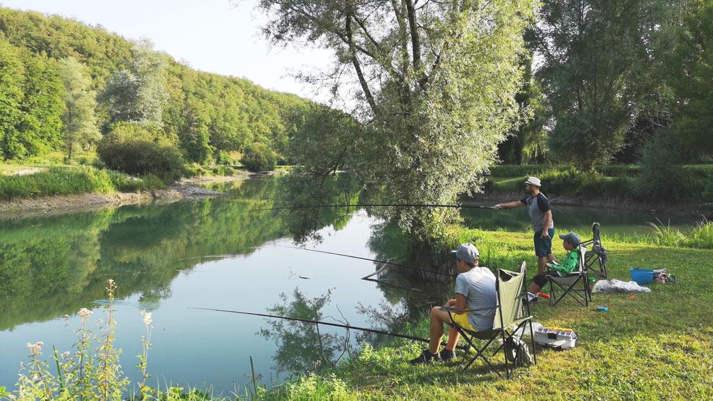fishing competition camping de la grande prade