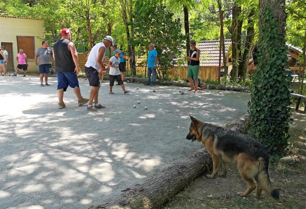 concours de petanque camping de la grande prade