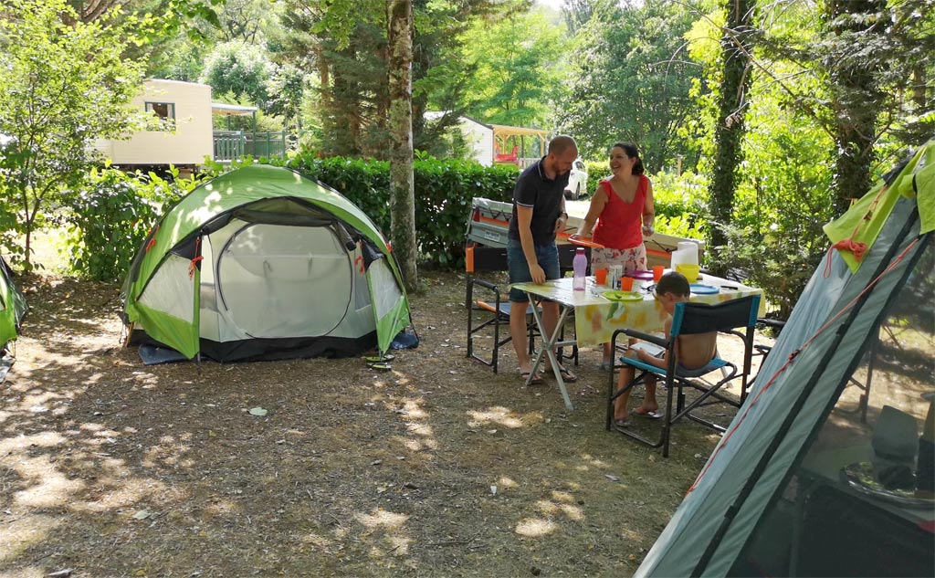 camping tenet la grande prade