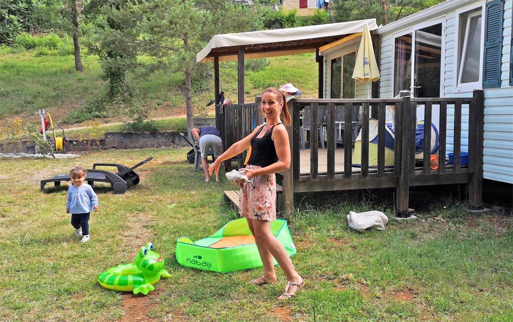 Mobil Home Camping La Castillonderie Thonac