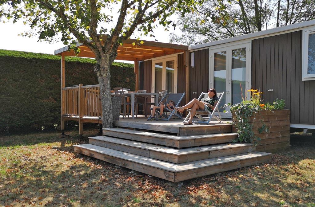 Premium mobile home Camping La Nouvelle Croze Rouffignac