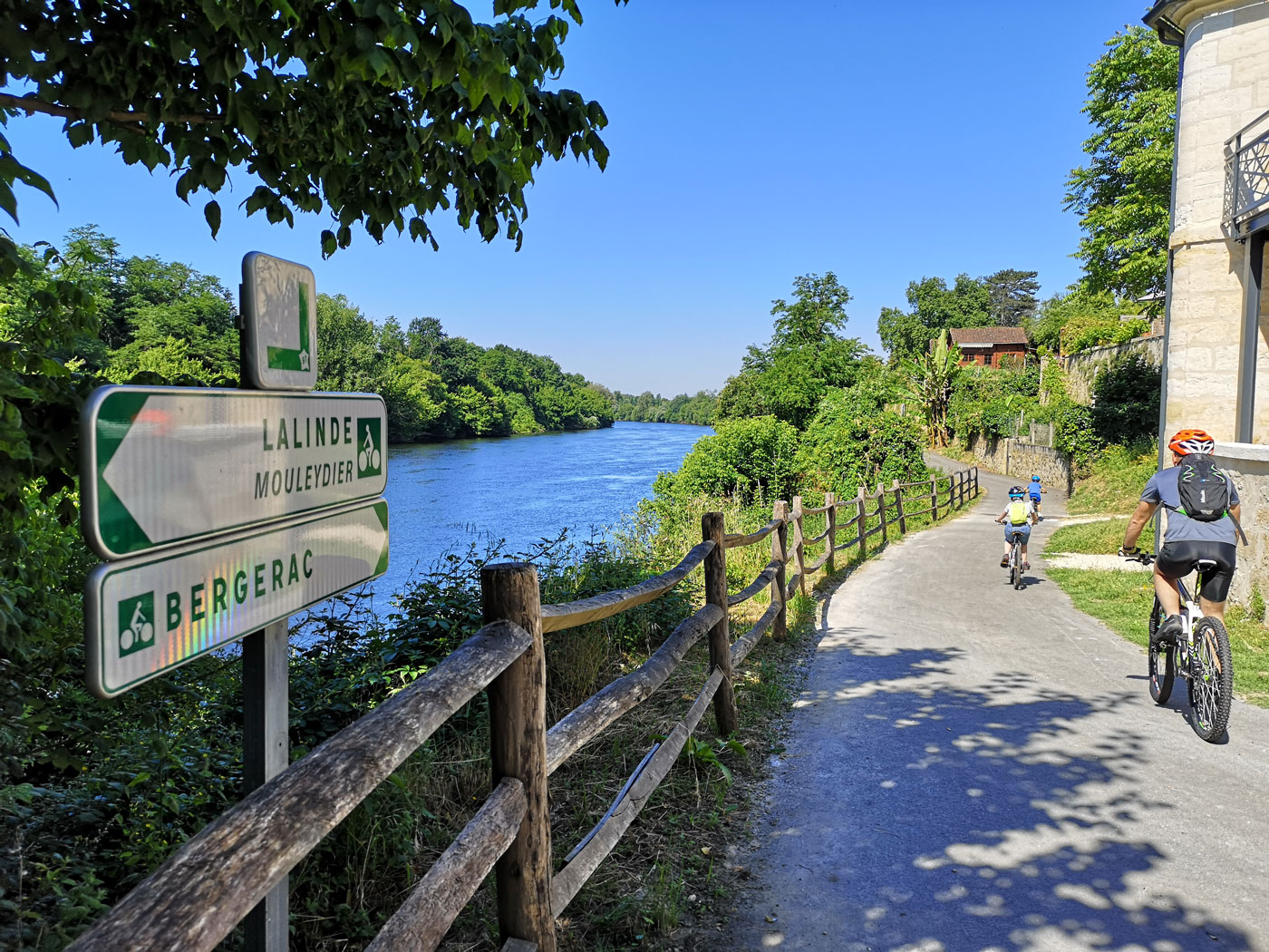 Bergerac Greenway cycle route