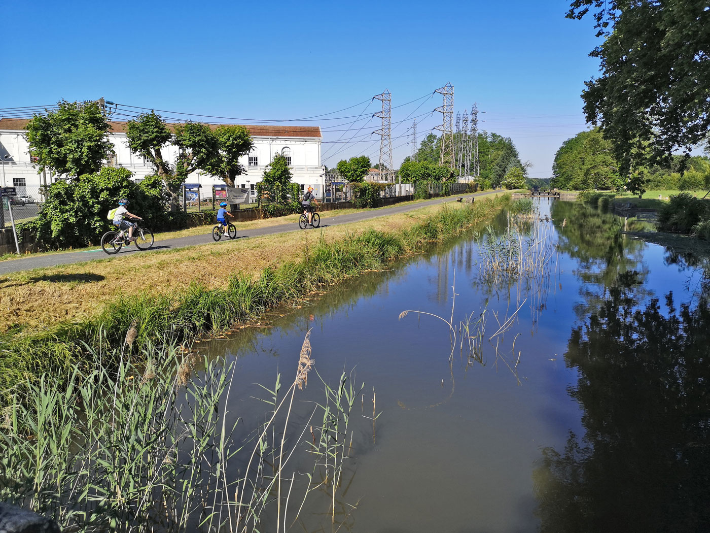 The Bergerac cycle route