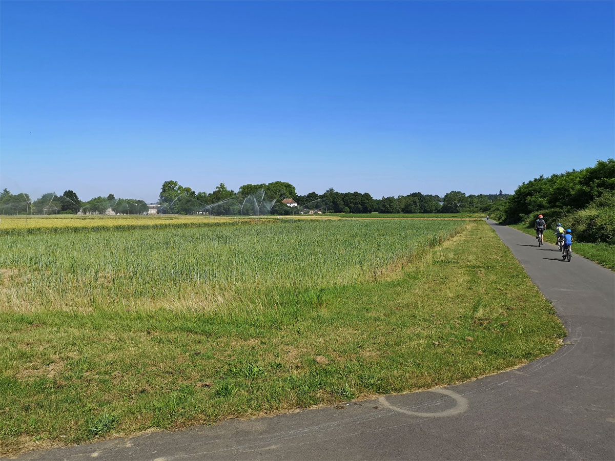 Bergerac cycle route