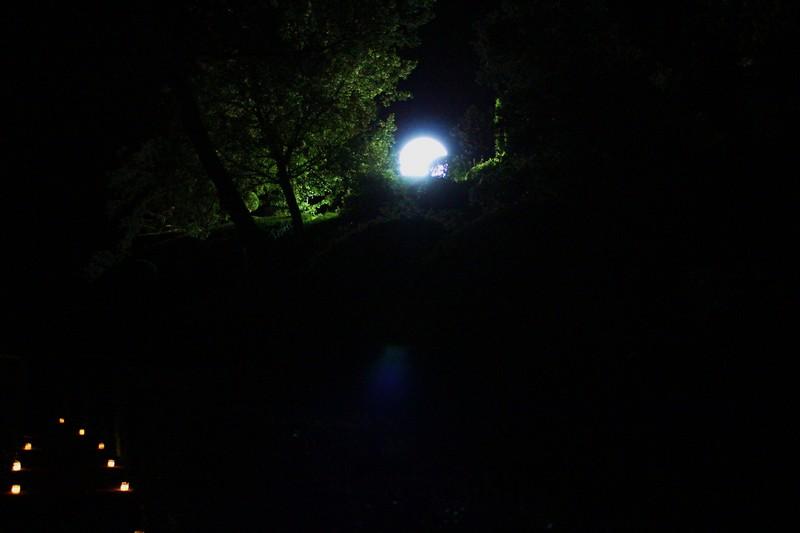 La nuit des chandelles à Marqueyssac